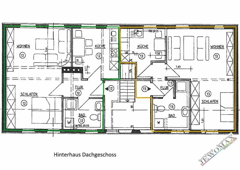 jewomax immobilien mehrfamilienhaus in neustrelitz. Black Bedroom Furniture Sets. Home Design Ideas